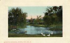 Vintage Postcard 1910 Western Australia Queens Gardens Falk Mundaring post mark