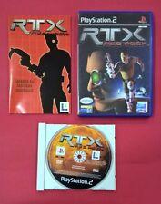 RTX Red Rock - PLAYSTATION 2 - PS2 - USADO - MUY BUEN ESTADO