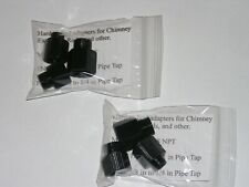 3 Pack, Hard to find adapters for Chimney Brush Ext Rods and other (Ships Free)