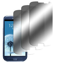 3 x Spiegelfolie Samsung Galaxy S3 S III i9300 Spiegel Displayschutzfolie Mirror