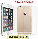 Anti-scratch 5 Front and Back Clear Screen Protectors Film FOR new iPhone 7 Plus