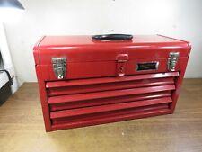 Blue Point Krw183 3 Drawer Red Tool Box 205 X 12 X 85