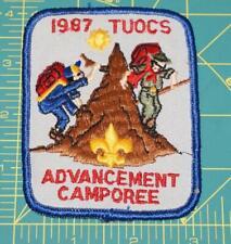 1987 tuocs advancement camporee patch (604)
