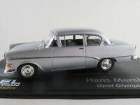 "IXO #123 Opel Olympia Rekord P1 Lim. (1957) ""Mersheimer"" in silber 1:43 NEU/PC"