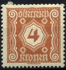 Austria 1921 SG D512 Nuovo * 80%