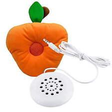 Mini White 3.5mm Pillow Speaker Fits Mp3 Mp4 Player iPhone iPod CD Radio OK