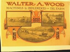 1900 Walter A. Bois Machines & Outils Annuual Ventes Bk. 40 Pgs