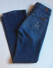 7 Seven For all Mankind 7FAM A Pocket Style Jeans 25 Boot Cut