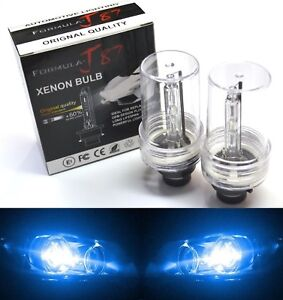 HID Xenon D2S Two Bulbs Head Light 10000K Blue Bi-Xenon Replace Lamp Low Beam