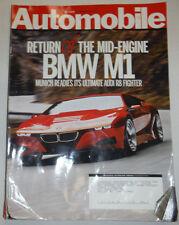 Automobile Magazine BMW M1 July 2008 031115R
