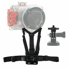 Adjustable Chest Mount W/ Quick Release-Buckle For Intova Sport Pro HD Video Cam