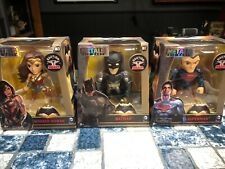 Jada Metals Die Cast Wonder Woman Batman  Superman Set- New