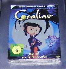 Coraline Steelbook Edición Blu-Ray Más Rápido Envío NUEVO Y EMB. orig.