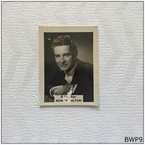 B.B.C. Star Ronnie Hilton Small Old Photograph (BWP9)