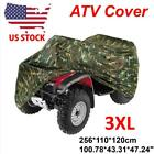 XXXL Waterproof ATV Cover Universal For Polaris Honda Yamaha Can-Am Suzuki Camo