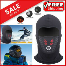 Mens Windproof Fleece Balaclava Motorcycle Ski Warm Full Face Mask Neck Hood US