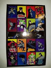 "Sandylion Batman Sticker lot of 10 SHEETS size 4"" X 6""  Hot"