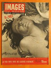 Images du Monde 119 du 22/4/1947-50 ans après le Bazar charité,la Kermesse Rouge