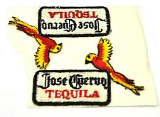 2 x Jose Cuervo Tequila USA ricamate patch gestickter Tessuto Adesivo PAPPAGALLO