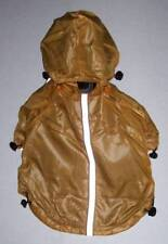 PET LIFE Dog Raincoat Jacket coat with removable hood Small Lined Reflective NWT