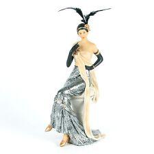 Large 1920's Art Deco Charleston Lady Figurine / Ornament.New & boxed.58303
