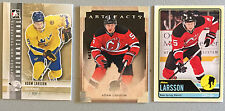 3 Adam Larsson 2011-12 ITG Heroes and Prospects #8 2014-15 Artifacts #2 OPC #256