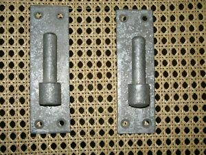 """Pair of Galvanized Hook On Plates Suits 18""""-20"""" Bands ** Clearance **"""