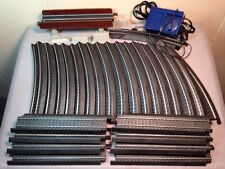 Life-Like POWER-LOC  HO Scale Train Track LOT  - 27 Tracks, Transformer, Bridge!