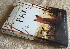 """Pax"" signed children's book Sara Pennypacker HC/DJ autographed"
