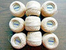 9 Balls of Cotton Crochet Thread