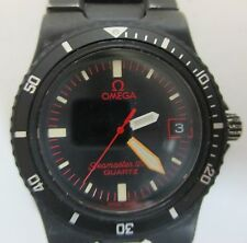 GENUINE  OMEGA SEAMASTER 120 MM BLACK MATTE QUARTZ