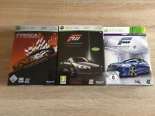 Xbox 360 Forza Motorsport 2, 3 & 4 - Limited Collectors Editions !!!