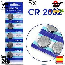 5x CR 2032 PILAS pila de botón baterías 3 V boton bateria CR2032 DL2032 ECR2032