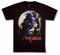 Disturbed Reaper W/ Moon Black T Shirt New Official Band