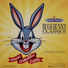 LD LaserDisc Bugs Bunny Classics: Special Collectors' Edition Cartoons rare