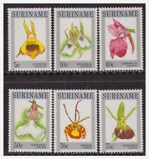 Surinam / Suriname 1984 Orchidee orchids MNH