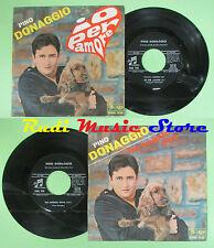 LP 45 7'' PINO DONAGGIO Io per amore Un angelo vivo 1967 italy COLUMBIA no cd mc