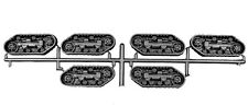 Sci-Fi CATERPILLAR TRACKS  (Tehnolog, hard plastic) 6pcs / 3pairs