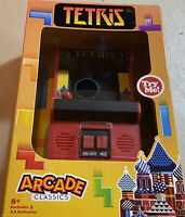 Tetris Arcade Classic Arcade Game Play Hand Held in color new in box