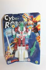 """Cyber Robot Action Figure Toy 7"""" Bootleg New Carded"""