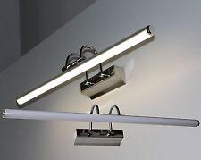 LED Wandleuchte Aufbauleuchte Chrom 4000K Bildleuchte Spiegelleuchte Mod. LOOK-7