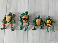 TMNT Teenage Mutant Ninja Turtles Vintage Action Figures Playmates Toys 80s 90s
