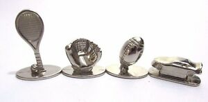 Sports ESPN Scene It? Replacement 4 tokens movers football glove trophy piece