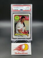 Juan Soto 2018 Topps Heritage High# RC #502 Nationals Rookie PSA-10 Super HOT!!