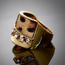 Rhinestone Alloy Fashion Rings