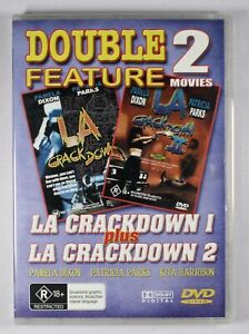LA Crackdown 1 and 2 DVD FREE POST