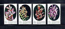 SINGAPORE 247-50, 1976 ORCHIDS, MNH (ID2734)