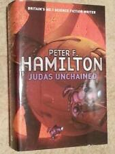 Peter F Hamilton SIGNED Judas Unchained UKHC 1st Edn