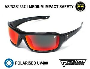 Fuglies PP16 Polarised Safety Sunglasses - ASNZS1337 Tinted Safety Glasses