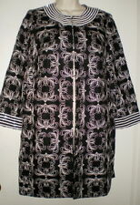 VICTOR COSTA Occasion DRESSY COAT S Bugle BEADS Small STITCHED Jacket FABULOUS